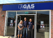 Outside the new Gasbits store.