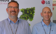 Andy Hooper and Alastair Kay, LG Electronics.
