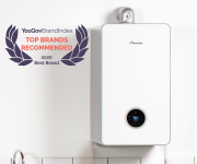 Worcester Bosch comes sixth in YouGov Top 10 domestic appliance brands.