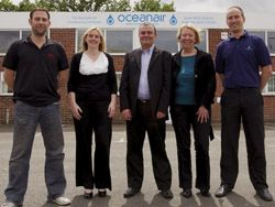 Oceanair's Crawley team