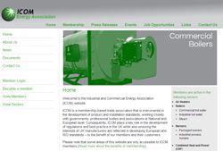 ICOM Energy Association unveils new website