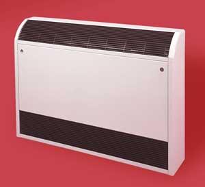 Convector radiator met ventilator