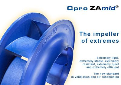 Ziehl-Abegg  Cpro High Efficiency Empeller