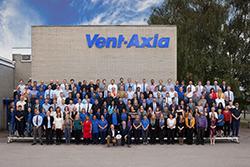 Vent-Axia staff celebrate 80th anniversary