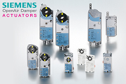 Abgo is offering the Siemens range of dampers and actuators.
