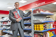 Buildbase commercial director, Lyndon Johnson, launches Plumbingbase.