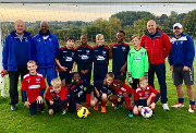 The Shelfield United Under-11s team.