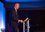 Tim Hopkinson speaks at the 2018 BESA National Conference.