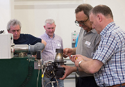 Hands-on training using the new Elco EKL burner.