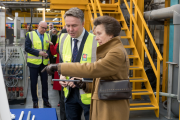 The Princess Royal visited Polypip