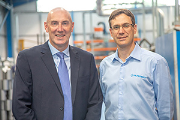 Andy Bews of Carter Environmental Engineers (left) and James Stansfield of Filtermist.