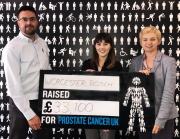 Worcester Bosch has raised £33,100 for Prostate Cancer UK.
