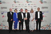 Stiebel Eltron UK at 2019 Wirral Business Awards.