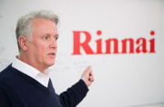 Rinnai managing director, Tony Gitting