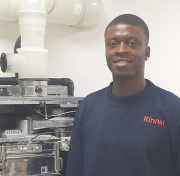 Danny Madagwa, applications engineer.