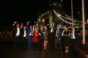 The HVR Awards 2019 winners against the backdrop of Tower Bridge