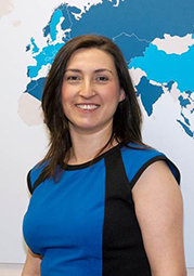 Saziye Dickson, Global Research Manager of Air Conditioning, Ventilation and Refrigeration portfolio for BSRIA.