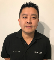 Sang Duong, new business development manager at Keston Boilers.