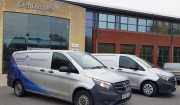 Glen Dimplex Heating and Ventilation's two new state-of-the-art training vans.