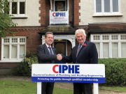 Kevin Wellman, CIPHE chief executive and Peter Thom, director of IDHEE.