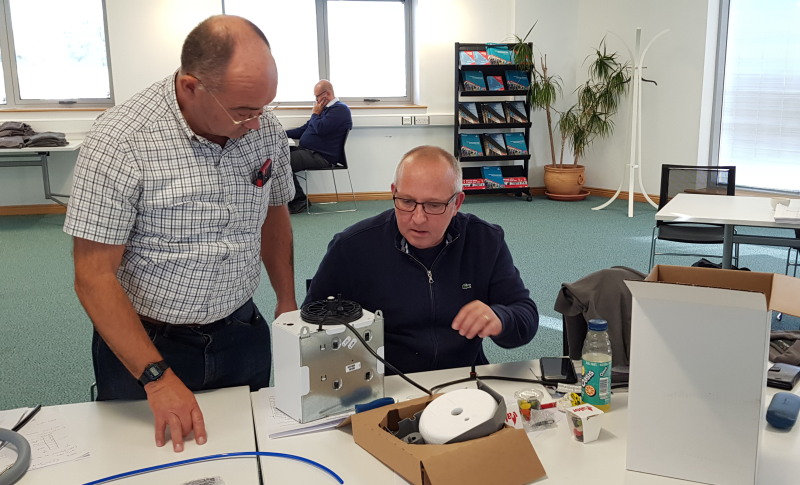 GDHV recently provided training to engineers working for housing association Aster.