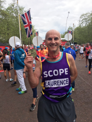 Laurence Chownsmith, UK building solutions sales manager, took on the London Marathon.