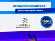 The WorldSkills business briefing was held on the morning of 21 November.