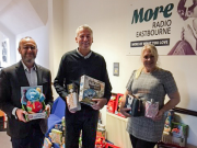 Companies such as Aspen Pumps have donated toys to More Radio to support vulnerable children charities.
