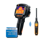 The Testo 872 building inspection kit.