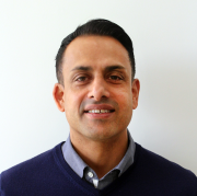 Asim Ansari, Airedale's export manager.
