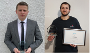 JTL Apprentices of the Year Callan Baker (left) and Arnie Humphreys (right)
