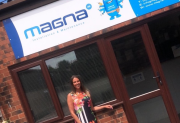 Magna IM sales and marketing manager Tracy Armstrong