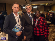 Health & Wellbeing in Buildings Group chair Nathan Wood, BESA chief executive David Frise