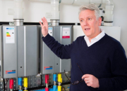 Rinnai UK managing director, Tony Gittings