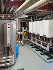 Mikrofill supplied a new boiler and hot water generation plant to the Holiday Inn in Bromsgrove
