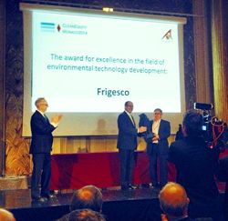Frigesco flash defrost system wins international award