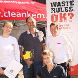 Tradesmen told not to bin waste rules