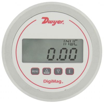DM-1200 Battery Powered Differential pressure/air flow gauge
